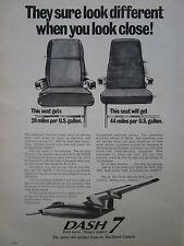 9/1974 PUB DE HAVILLAND AIRCRAFT OF CANADA AVION DASH 7 AIRLINER ORIGINAL AD
