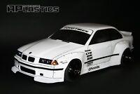 RC Body Car Drift 1:10 BMW 3 E 36 Coupe E36 Pandem style APlastics New Shell