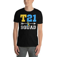 Vintage T21 Squad Cool World Down Syndrome Awareness Day Down Right T-Shirt