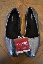 DearFoams Women's Stepout Cushioned Lightweight Outdoor Sole Slippers Sz. 8