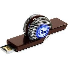 Cancelamento de ruído Tiki Azul Laptop Usb Microfone Para Skype E Gravação