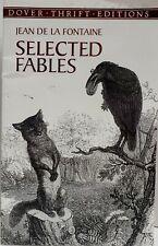 Selected Fables by Jean De La Fontaine 2000 Paperback