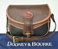 Rare VTG Dooney & Bourke Teton tri colored leather AWL Shoulder Bag cross body
