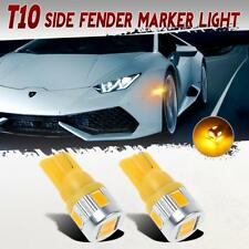Amber 194 168 2825 Front Side Marker 5730 LED Light