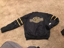 Harley Davidson Men's Genuine Motor Clothes Size Medium Jacket Damaged Repairs