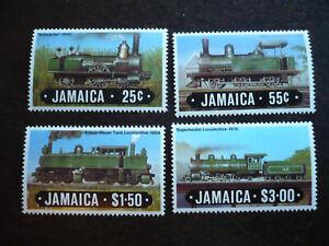 Stamps - Jamaica - Scott# 583-586
