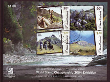 NEW ZEALAND 2004 WORLD STAMP CHAMPIONSHIP  FINE USED, LORD OF THE RINGS