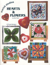 HEARTS & FLOWERS, 32 Fused Glass Designs by Mari Stein (Marick Studios, 2005)