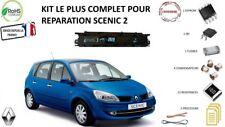 Kit complet de réparation pour compteur tableau de bord Scenic 2 (19 composants)