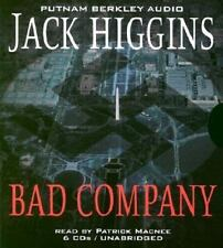 Bad Company by Jack Higgins (2003, CD, Unabridged)