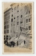 KELLY BLOCK, WINNIPEG AFTER FIRE: Manitoba Canada postcard (C23106)