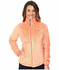 New Womens The North Face Ladies Osito Fleece Jacket Orange Large
