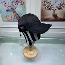 Prada Milano Black Hat Baseball Cap Ajustable
