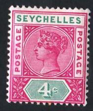 SEYCHELLES N° 2 : NEW PLANCHE II -  year 1890   CV : 12 €