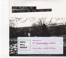 (EY640) Last Night's TV, No Tinsel On The Town Hall - 2011 DJ CD