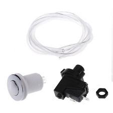 Bath Tub Spa Waste Garbage Disposal Self-Lock Air Hose Push Button  Air Switch