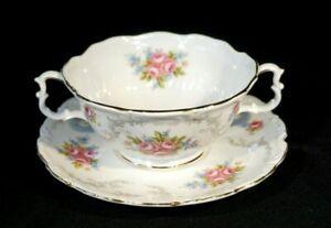 Beautiful Royal Albert Tranquility Cream Soup Bowl