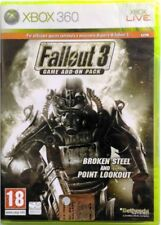 Gioco Xbox 360 Fallout 3 Game Add-On Broken Steel Point Lookout - Bethesda Nuovo