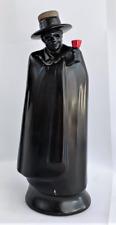 Vintage Royal Doulton Liquor Bottle Decantor Zorro Sandeman Figure Rare Red Tip