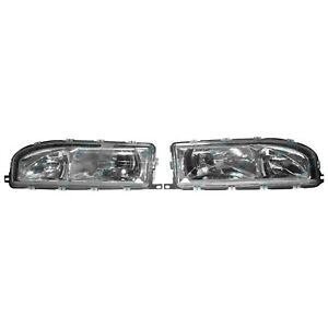 Clear Headlights for Holden VL Commodore 1986~1988 Head Lights NEW