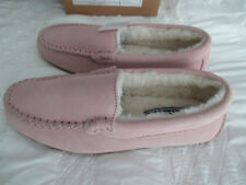 Suede Slipper Womens  pink /rose size 6