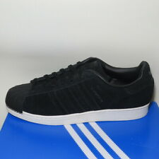 adidas Orginals Superstar BZ0201 Men's Size 11.5 Black Shell Toes Sneakers NIB