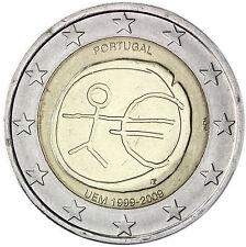 Portugal 2 Euro Gedenkmünze 2009 bfr. 10 Jahre Wirtschaftsunion WWU EMU