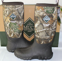 MUCK MEN'S FIELDBLAZER CLASSIC FLEECE REALTREE EDGE HUNTING BOOT, FBF-RTE