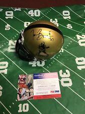 Vintage Tim Brown Autographed Heisman Mini Helmet NOTRE DAME PSA COA