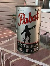 1930's Pabst Old Tankard Ale Oi beer can 1/1+ Exc colors & graphics Milwaukee