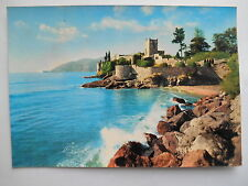 """CPSM """"La Napoule plage - Le château"""""""