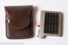 Metraphot Meter Grid Panel Cell with Case - Untested SN67088 Germany - USED X226