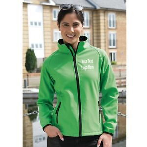 Custom Embroidered R231F Ladies Soft shell Jacket With your Text Logo