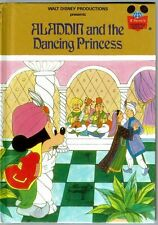 Disney's Wonderful World Of Reading Book ~ ALADDIN AND THE DANCING PRINCESS