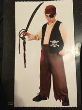 New Pirate Boy Costume 8+ one size fits most