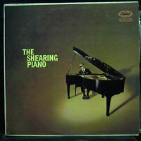 GEORGE SHEARING the shearing piano LP VG+ T-909 Capitol Mono Vinyl 1957 Record