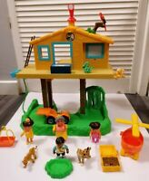 Go Diego Go Talking Animal Rescue Center Tree House Playset & Lots of Figures