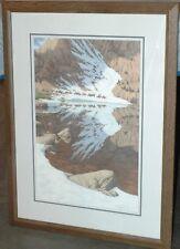 """Bev Doolittle """"Season Of The Eagle"""" Signed & Numbered Custom framed"""