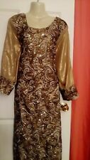 shalwar  kameez ethnic indian pakistani MAXI LONG DRESS WEDDIND BRIDAL PLUS SIZE