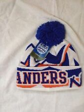 NY Islanders Stadium Series Winter Knit Hat - As Worn On Ice At Yankee Stadium