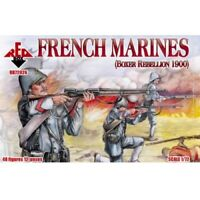 French Marines Boxer Rebellion 1900 Red Box Figures (48) 1/72 Scale #72026