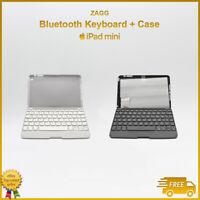 "Zagg iPad mini Keyboard Bluetooth Case Folio Generation 1 2 3 4 // 7.9"" inch"