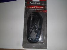 "RADIO SHACK 4202377    6-FT AUDIO CABLE 1/4"" MONO TO RCA FEMALE"