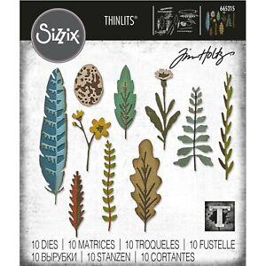 Sizzix Thinlits -  Funky Nature Die Set by Tim Holtz