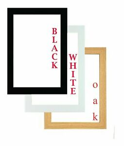 Poster Frame Picture Frame 6x4inch 6x8inch 5x7inch,A5,A6,A4,A3 Wood Effect