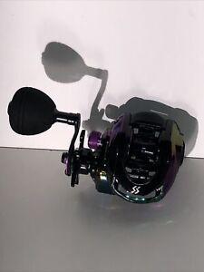 Baitcasting Reel, Colorful Fishing Reel 1 Gear Ratios, 8.0:9+1 BB