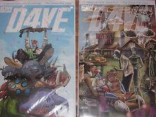 D4VE 1 2 NM DAVE Fiona Staples Robot War Hero Comedy 2014 Low Print Runs Saga