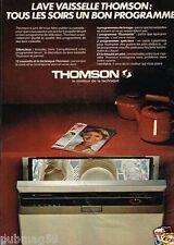 Publicité advertising 1979 Le lave Vaisselle Thomson
