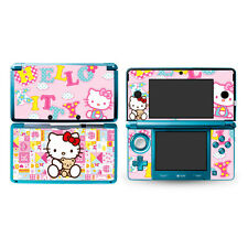 new pink Hello Kitty DECAL Sticker Skin Cover case for Nintendo original 3DS -4