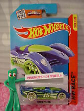 Case H/J 2014 i Hot Wheels POWER PISTONS #171☆Blue/Green;Glow Dark oh5☆Night